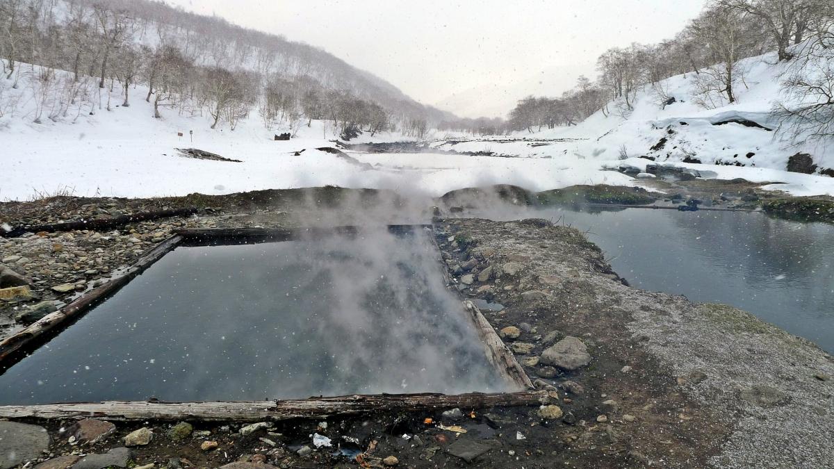Зимняя экскурсия на Карымшинские источники
