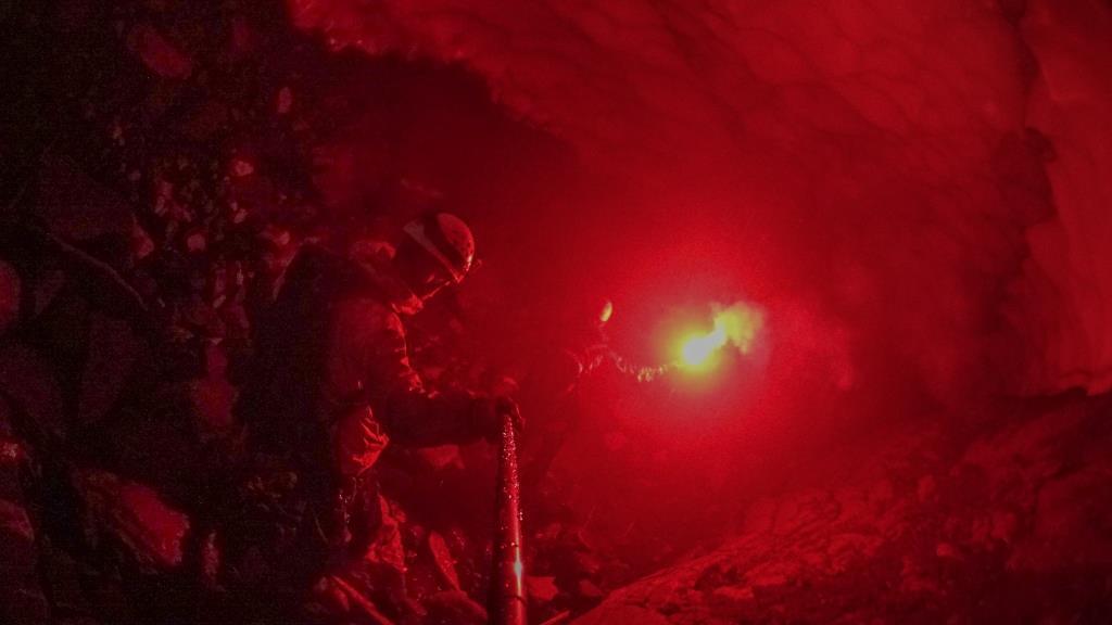 пещера Вилючинского водопада