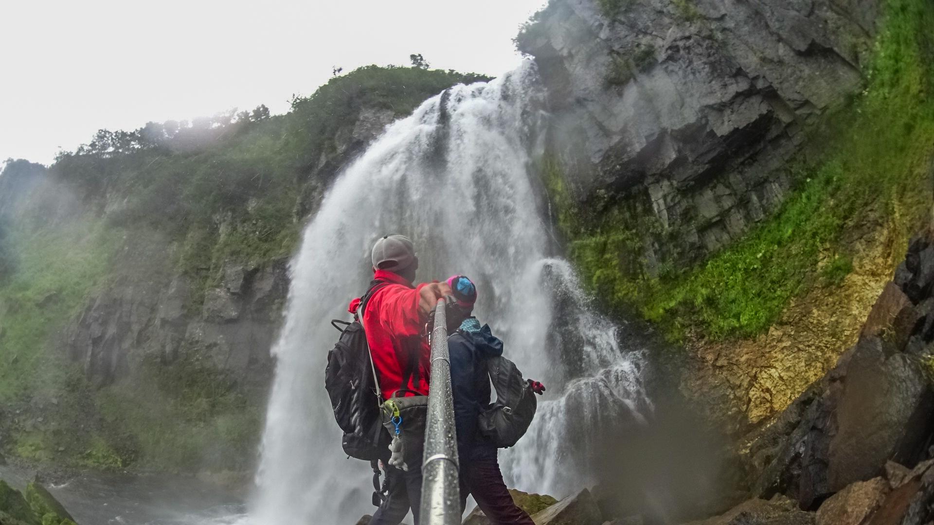 водопад Спокойный