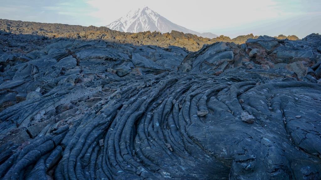 Лавовые поля вулкана Толбачик