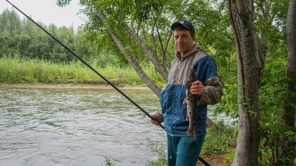 рыбалка на река Паратунка