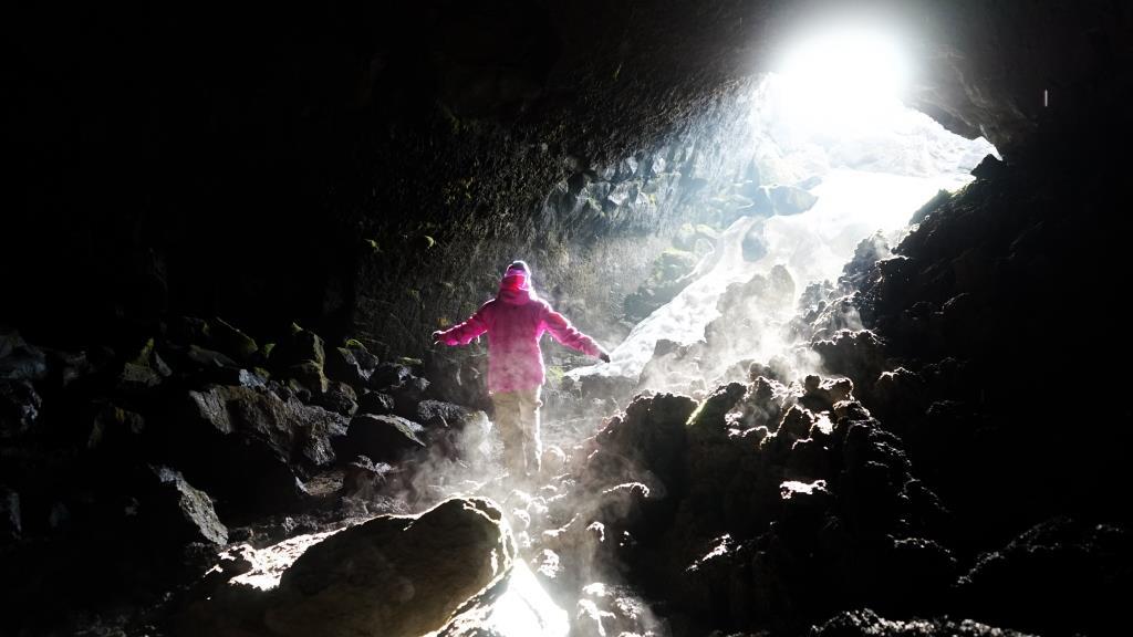 пещеры вулкана Горелый