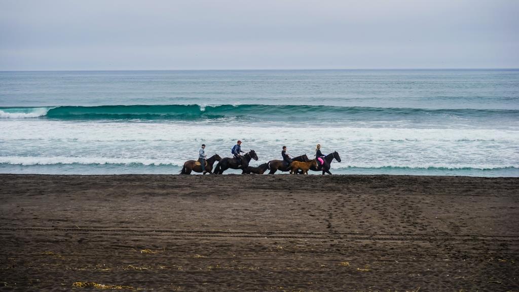 Халактырский пляж