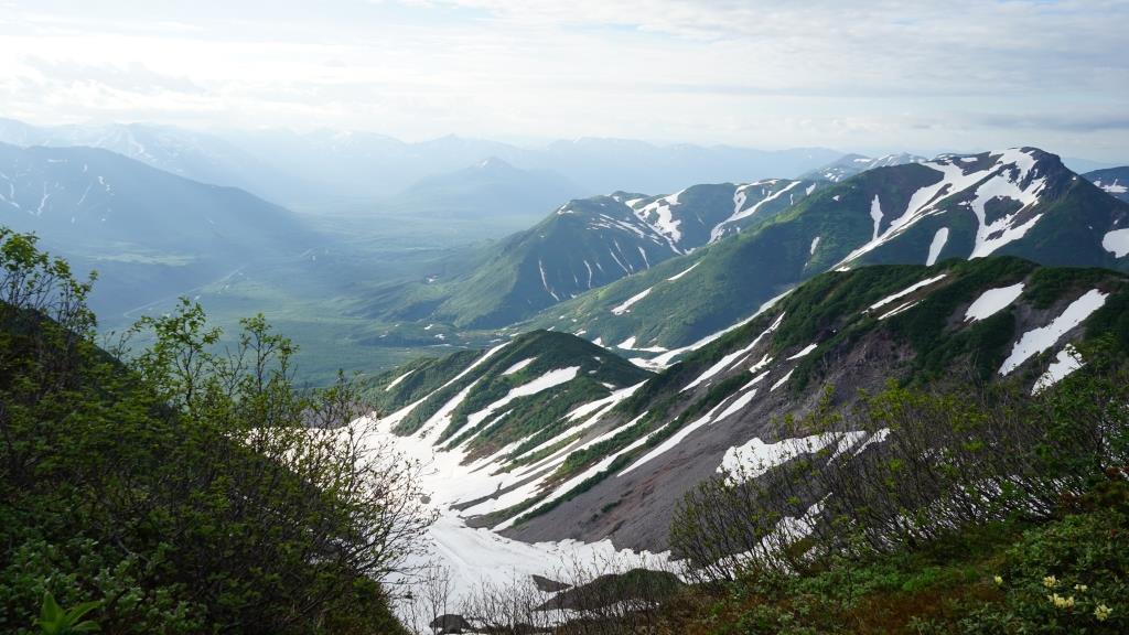 Вид со склона Вилючинского вулкана